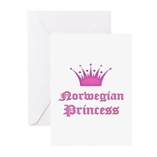 Norwegian Princess Greeting Cards (Pk of 10)