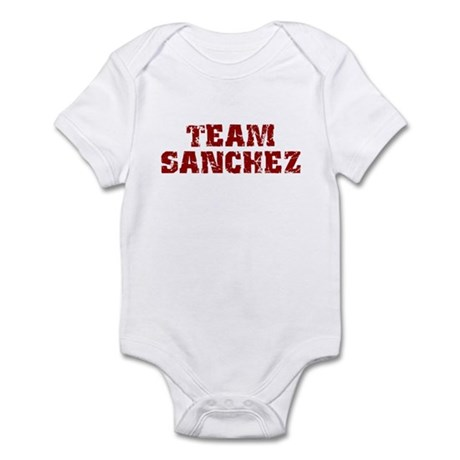 Team Sanchez Infant Creeper