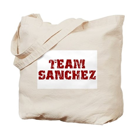 Team Sanchez Tote Bag
