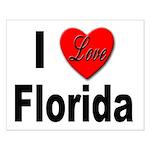 I Love Florida Small Poster