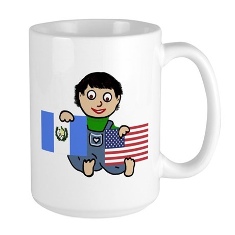 NEW! Guatemala Guy Large Mug