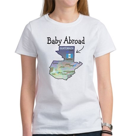 NEW! Baby Abroad Blues Women's T-Shirt