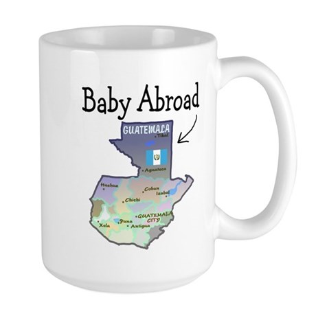 NEW! Baby Abroad Blues Large Mug