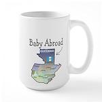 NEW! Baby Abroad Blues Large Mug