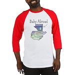 NEW! Baby Abroad Blues  Baseball Jersey