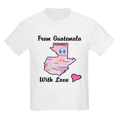 Guatemala Pinks Kids T-Shirt