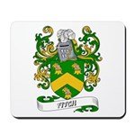 Fitch Coat of Arms Mousepad