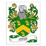 Fitch Coat of Arms Small Poster