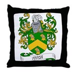 Fitch Coat of Arms Throw Pillow