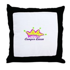 camperqueen Throw Pillow