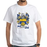 Fitz-Hugh Coat of Arms White T-Shirt