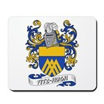 Fitz-Hugh Coat of Arms Mousepad