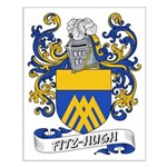 Fitz-Hugh Coat of Arms Small Poster