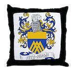 Fitz-Hugh Coat of Arms Throw Pillow