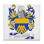 Fitz-Hugh Coat of Arms Tile Coaster