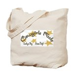 Cowgirls Rule Cowboy's Obey Tote Bag