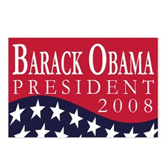 Barack Obama 2008 (8 Postcards)
