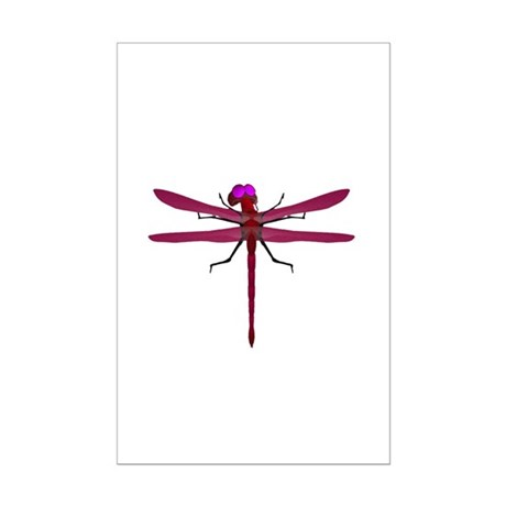 Dragonfly Mini Poster Print