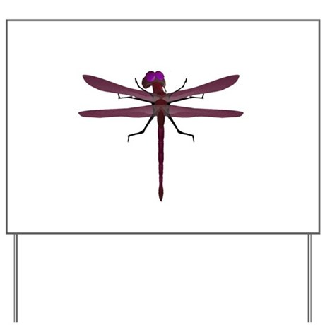 Dragonfly Yard Sign