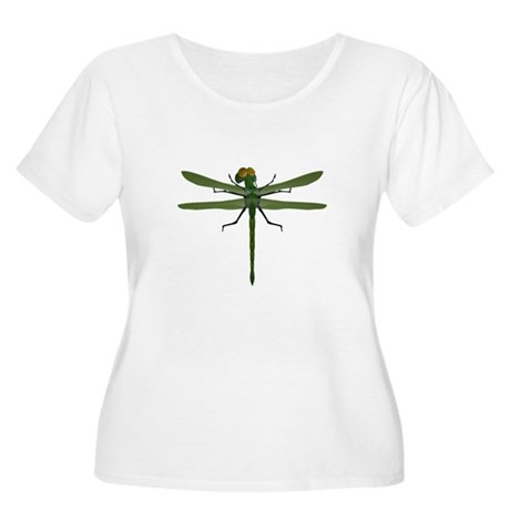 Dragonfly Women's Plus Size Scoop Neck T-Shirt