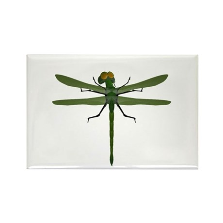 Dragonfly Rectangle Magnet (10 pack)