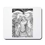Unique Angel warrior Mousepad