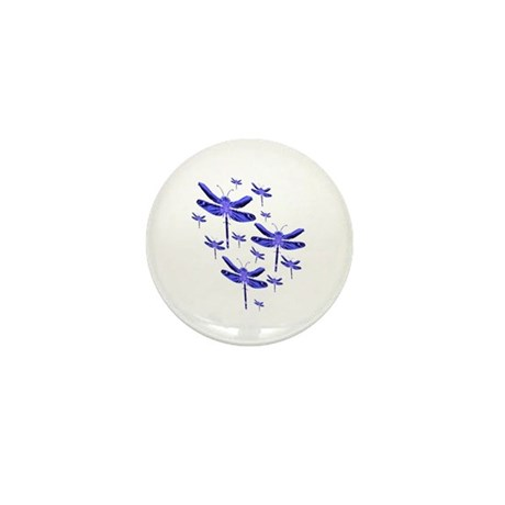 Dragonflies Mini Button