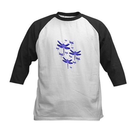 Dragonflies Kids Baseball Jersey