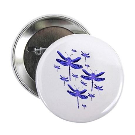 "Dragonflies 2.25"" Button"