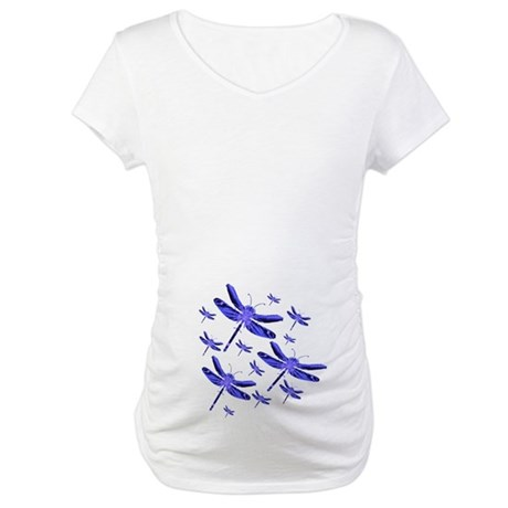 Dragonflies Maternity T-Shirt