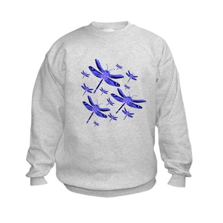 Dragonflies Kids Sweatshirt