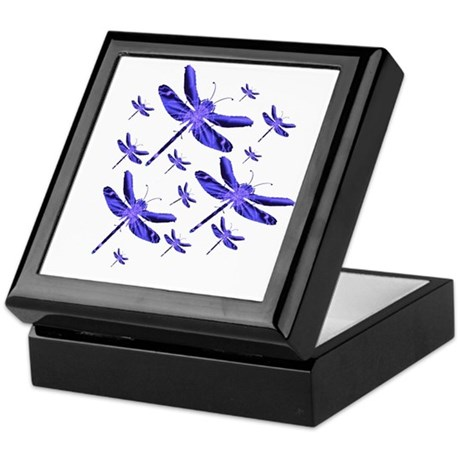 Dragonflies Keepsake Box