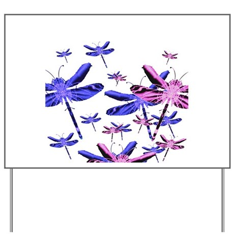 Dragonflies Yard Sign
