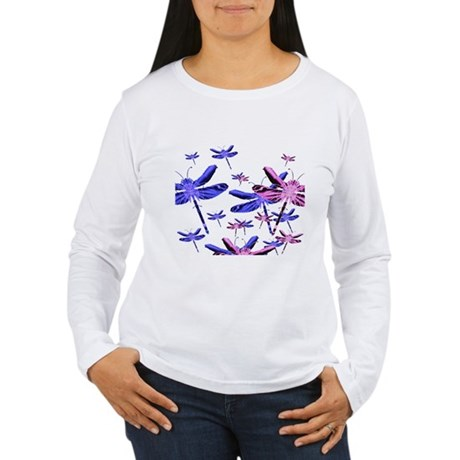 Dragonflies Women's Long Sleeve T-Shirt