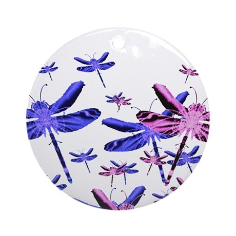 Dragonflies Ornament (Round)