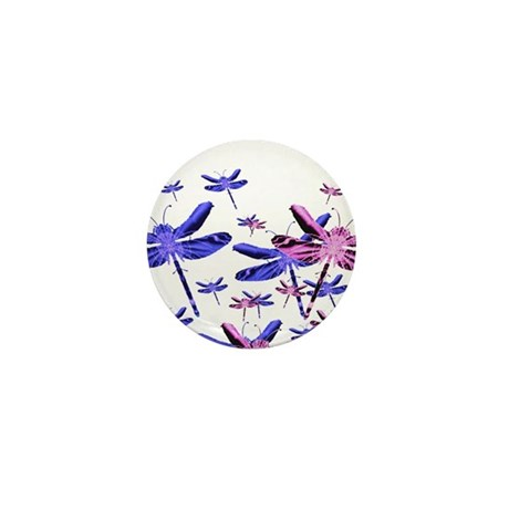 Dragonflies Mini Button (10 pack)