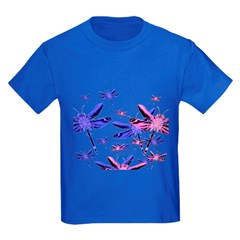 Dragonflies Kids Dark T-Shirt