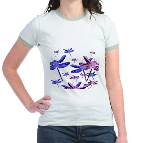 Dragonflies Jr. Ringer T-Shirt
