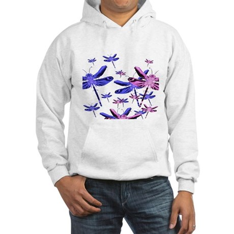Dragonflies Hooded Sweatshirt