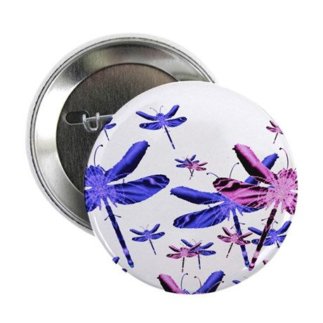 "Dragonflies 2.25"" Button (10 pack)"