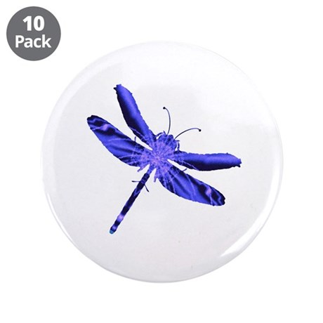 "Dragonfly 3.5"" Button (10 pack)"