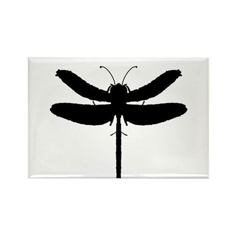 Dragonfly Rectangle Magnet