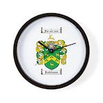 Robinson Coat of Arms Wall Clock