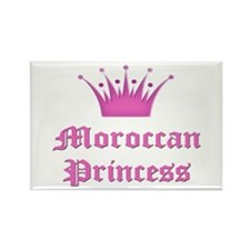 Moroccan Princess Rectangle Magnet
