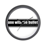 one with the bullet Wall Clock