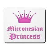 Micronesian Princess Mousepad