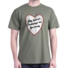 My Heart Belongs to Granny T-Shirt