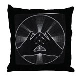 Hands of Light Pillow Throw Pillow