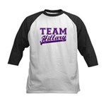 Team Hillary Purple Kids Baseball Jersey