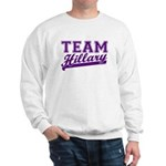 Team Hillary Purple Sweatshirt